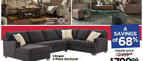 Ashley Furniture Weekly Ad August 22 – August 28, 2017. Labor Day Sale!