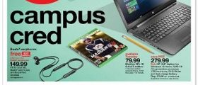 Target Circular Ad August 20 – August 26, 2017. Campus Cred!