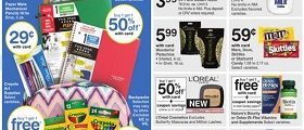 Walgreens Weekly Circular Ad August 20 – August 26, 2017. Savings Are In Session!