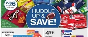 Walgreens Weekly Specials September 24 - September 30, 2017. Huddle Up & Save!