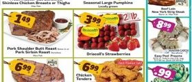Save Mart Weekly Ad October 4 – October 10, 2017. Beef Rib Steak on Sale!