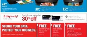 Staples Weekly Ads October 15 – October 21, 2017. Print Free For Life!