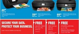 Staples Weekly Deals October 22 – October 28, 2017. Chair Event!
