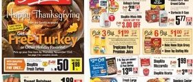 ShopRite Weekly Deals November 19 – November 25, 2017. Happy Thanksgiving!