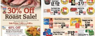 ShopRite Weekly Ad November 26 – December 2, 2017. Roast Sale!