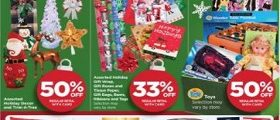 Rite Aid Weekly Ads December 17 – December 23, 2017. Assorted Holiday Decor on Sale!