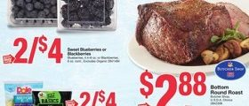 Stop & Shop Weekly Ads December 1 – December 7, 2017. Bottom Round Roast on Sale!