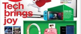 Target Weekly Specials December 3 – December 9, 2017. Bring On The Gifts!