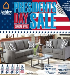 Ashley Furniture Weekly Ad January 30 February 5 2018 Presidents