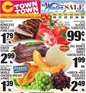 Ctown Weekly Ads January 19 - January 25, 2018. Winter Sale!