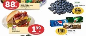 Safeway Circular Ad January 10 – January 16, 2018. Driscoll's Sweet Blueberries