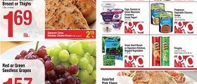 Shaw's Weekly Circular January 26 – February 1, 2018. Red or Green Seedless Grapes