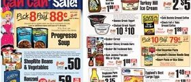 ShopRite Weekly Flyer January 7 – January 13, 2018. Can Can Sale!