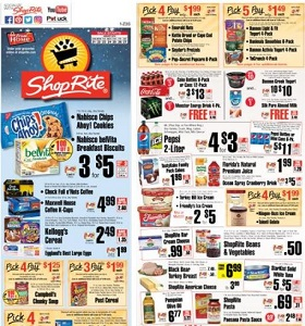 ShopRite Weekly Flyer January 21 - January 27, 2018. Kellogg's Cereal