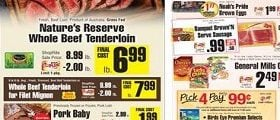 ShopRite Weekly Deals January 28 – February 3, 2018. Nature's Reserve Whole Beef Tenderloin on Sale!