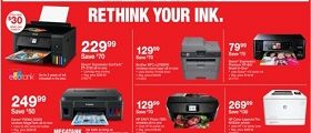 Staples Weekly Specials January 7 – January 13, 2018. Rethink Your Ink!