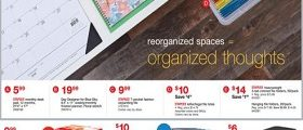 Staples Weekly Deals January 14 – January 20, 2018. Reorganized Spaces!