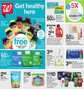 Walgreens Flyer January 14 - January 20, 2018. Get Healthy Here!