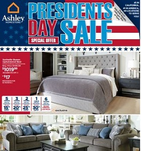 Ashley Furniture Weekly Deals February 13 - February 19, 2018. Presidents Day Sale!