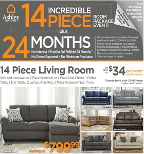 Ashley Furniture Sale Ad Laurelwiltresearch