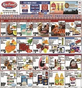 Key Food Circular February 16 - February 22, 2018. Presidents' Day Sale!