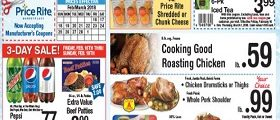 Price Rite Weekly Flyer December 16 – March 1, 2018. Beef Patties on Sale!
