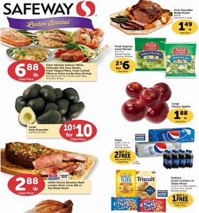 Safeway Weekly Ad February 14 - February 20, 2018. Dreyer's Ice Cream