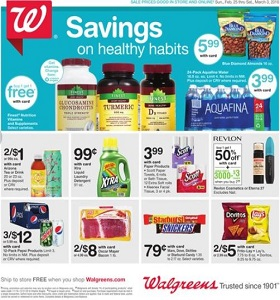 Walgreens Weekly Ad February 25 - March 3, 2018. Savings On Healthy Habits!