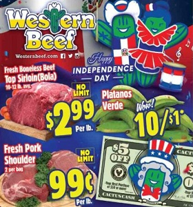 Western Beef Specials February 23 - March 1, 2018. Nathan's Beef Franks