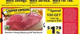 Winn Dixie Flyer February 28 – March 6, 2018. Nathan's Hot Dogs on Sale!