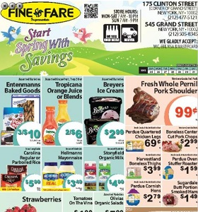 Fine Fare Weekly Circular March 26 - March 31, 2018