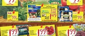 Gerrity's Weekly Deals March 11 – March 17, 2018. Produce Spectacular!