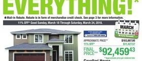 Menards Flyer March 18 – March 24, 2018