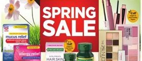 Rite Aid Weekly Circular March 18 – March 24, 2018. Spring Sale!