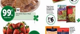 Safeway Circular March 14 – March 20, 2018. St. Patrick's Day Savings!