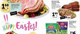 Safeway Weekly Ad March 28 – April 3, 2018. Happy Easter!
