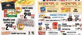 ShopRite Weekly Flyer March 18 - March 24, 2018. Land O Lakes Butter on Sale!