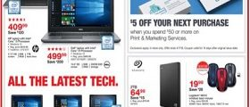 Staples Weekly Ad March 25 – March 31, 2018. All The Latest Tech!