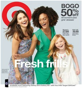 Target Weekly Flyer March 18 - March 24, 2018. Easter Best!