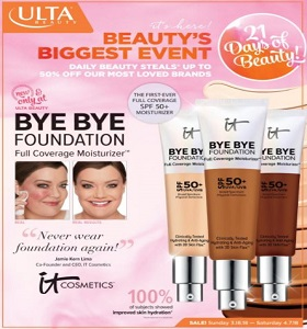 ULTA Beauty Sale Ad March 18 - April 7, 2018