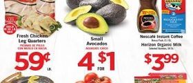 Vallarta Circular Ad March 21 – March 27, 2018. Small Avocados on Sale!