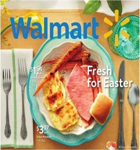 Walmart Weekly Ad March 18 - March 29, 2018. Fresh for Easter!