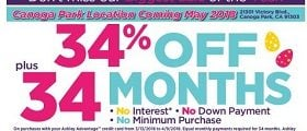Ashley Furniture Weekly Ad April 3 – April 9, 2018. Beat The Clock!
