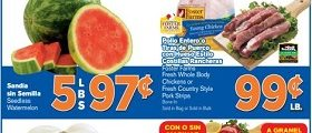 El Super Weekly Ads April 25 – May 1, 2018. Foster Farms Fresh Whole Body Chickens