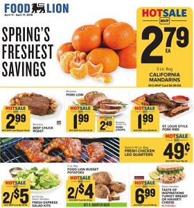 Food Lion Weekly Ad April 11 April 17 2018 Springs Freshest