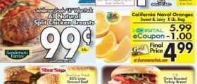 Gerrity's Weekly Circular April 1 – April 7, 2018. All Natural Split Chicken Breasts on Sale!