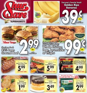 Gerrity's Weekly Ad April 15 - April 21, 2018. Golden Ripe Bananas on Sale!