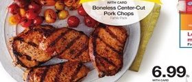 Kroger Weekly Ads April 25 – May 1, 2018. Boneless Center-Cut Pork Chops on Sale!