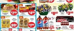 Marc's Weekly Ads April 11 – April 17, 2018. Pansy or Viola Hanging Baskets
