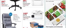 Staples Weekly Ad April 29 – May 5, 2018. Innovation at Work!